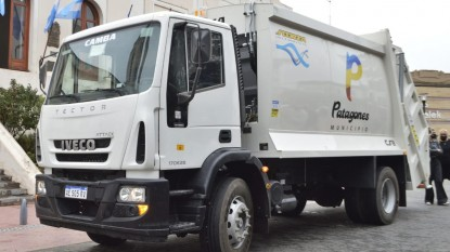 PATAGONES, CAMION RECOLECTOR, residuos
