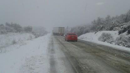 nieve, ruta 40