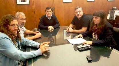 ATE, rodolfo aguiar, senasa, Jorge Ravetti, Carina Maloberti, Oscar De Isasi