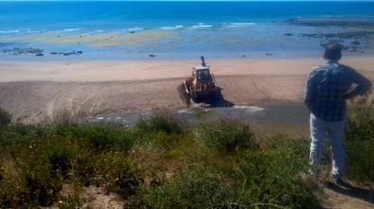 Las Grutas, playa, sao servicios públicos