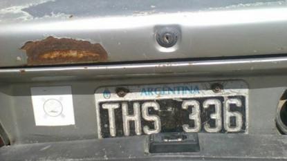 la patagones-viedma, AUTO ROBADO