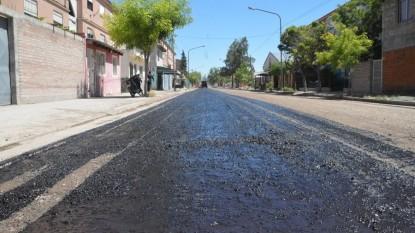 asfalto, pavimento, barrio ceferino, calle mexico