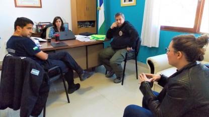 general conesa, bomberos, alejandra mas, Ivana Urquiza