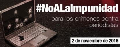 periodistas, impunidad
