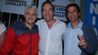 Martin Soria, Alejandro Fernández, Walter Almonacid