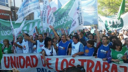 estatales rionegrinos, manifestacion