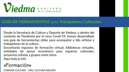GUIA DE HERRAMIENTAS, TRABAJADORES CULTURALES
