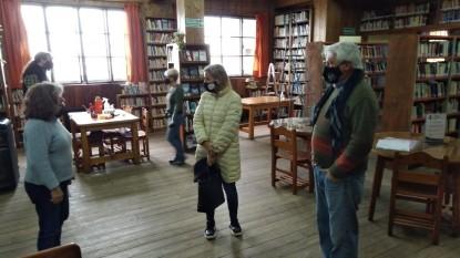 biblioteca sarmiento, biblioteca bariloche