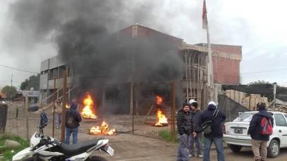 PROTESTA, PATAGONES, sitraic, instituto de formacion docente