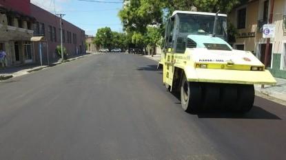 calle alsina, pavimento, asfalto