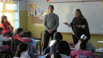 MARIA EMILIA SORIA, escuela, Ramón Chiocconi, bariloche
