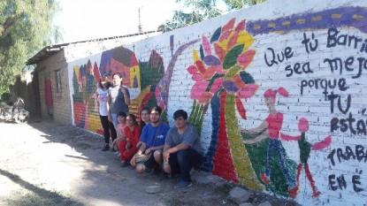 mural, JOVENES