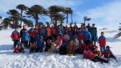 encuentro esquí delegacion RIo Negro
