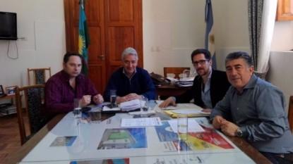 JOSE LUIS ZARA, marcelo honcharuk, Santiago Dalmau, PAREDES