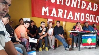 comunidad Mariano Solo