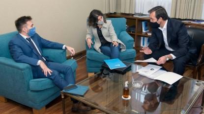 Martin Soria, Gabriela Carpinetti, Patricio Ferrazzano