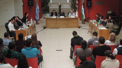 viedma, Concejo Deliberante, sesion