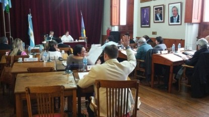 PATAGONES, Concejo Deliberante, sesion, HCD