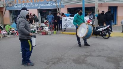 policias, general roca, manifestacion, reclamo, PROTESTA