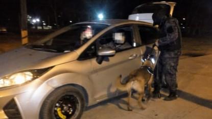 viedma, control policial