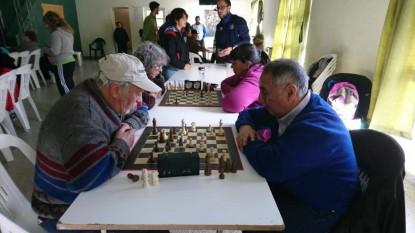 adultos mayores, ajedrez
