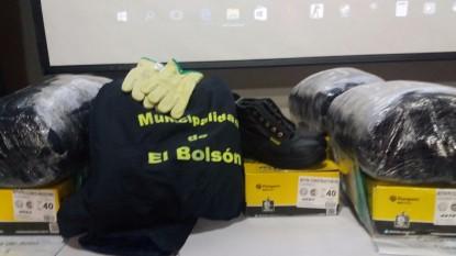 municipalidad bolson ropa empleados
