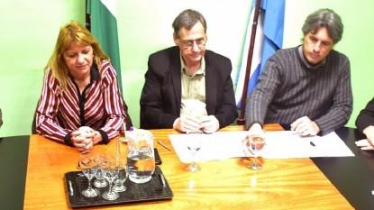 Carlos Johnston, Tabaré Bassi, Viviana Germanier