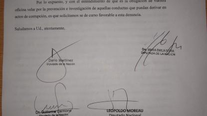 denuncia, Guido Martín Sandleris