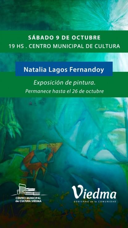 Natalia Lagos Fernandoy exposición