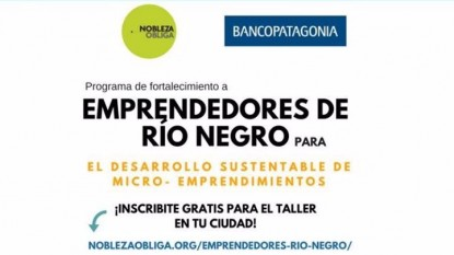 emprendedores rionegrinos