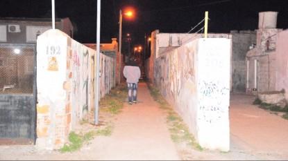 viedma, ILUMINACION, barrio santa clara