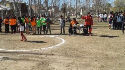 CINCO SALTOS, deportes niños