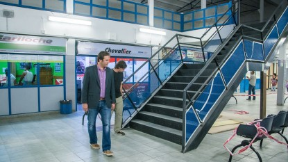 Martin Soria, general roca, terminal, omnibus