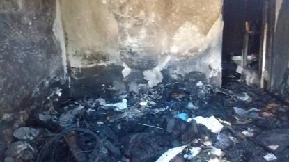 incendio, vivienda, BARRIO LAS FLORES