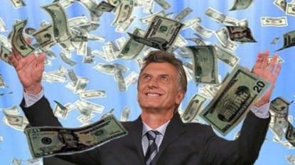 mauricio macri, dinero