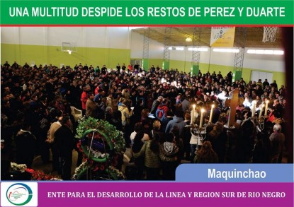 maquinchao, Marcos Pérez, velatorio