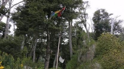 bandera, mapuche