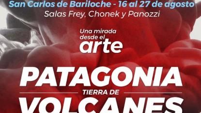 patagonia muestra tierra volcanes
