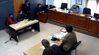 juicio, César Gutierrez Elcarás, Fabio Hernández