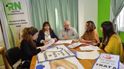 ministerio desarrollo social rn reunion contra trata