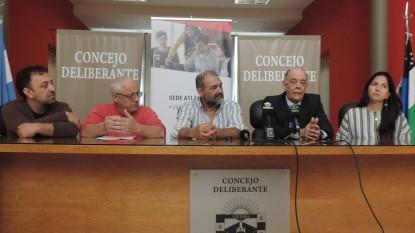 EVELYN ROUSIOT, MARIO ALBERTO FRANCIONI, anselmo torres, Martín Sánchez, Aníbal García