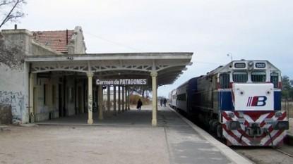 PATAGONES, tren
