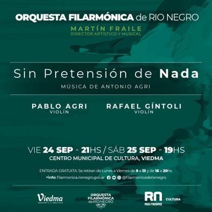 orquesta filarmónica presentación