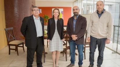 Alfredo Muruaga, Marcos Arezo, Alicia Bañuelos, Silvia Sosa Araujo