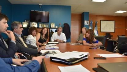 Pesatti, reunion de comisiones