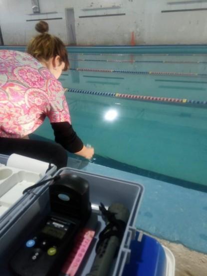 control, natatorio, piscina