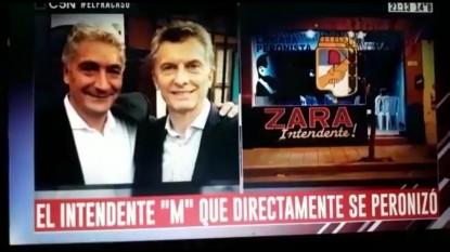mauricio macri, JOSE LUIS ZARA, LA CASA PERONISTA