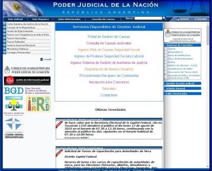 PODER JUDICIAL DE LA NACION
