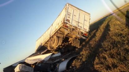 camion, accidente fatal, PATAGONES