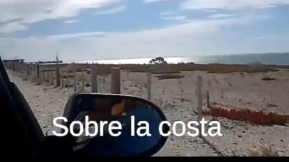 puerto, ALAMBRADO, playa